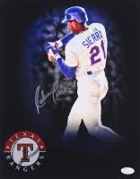 Ruben Sierra Signed Rangers 16x20 Photo (JSA COA) at PristineAuction.com