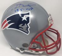 "Tom Brady Signed Patriots Full-Size Authentic On-Field Helmet Inscribed ""SB 51 MVP"" (Steiner COA & Tristar Hologram)"