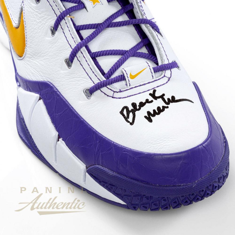 adcb6c4903b Kobe Bryant Signed Pair of (2) LE Nike Kobe 1 Protro Basketball Shoes  Inscribed