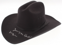"""Val Kilmer Signed """"Tombstone"""" Cowboy Hat Inscribed """"I'm Your Huckleberry"""" (Beckett COA)"""