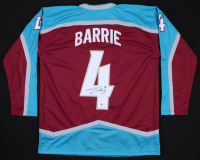 Tyson Barrie Signed Jersey (Beckett COA) at PristineAuction.com