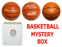 Schwartz Sports Basketball Superstar Signed Mystery Box Basketball - Series 7 (Limited to 75) (Pristine Exclusive Edition)