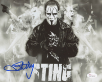 "Steve ""Sting"" Borden Signed WWE 8x10 Photo (JSA COA)"