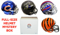 Schwartz Sports Football Superstar Signed Full-Size Football Helmet Mystery Box - Series 5 (Limited to 75)