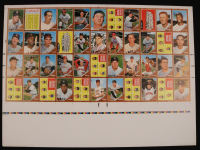 Lot of (2) 1962 Topps Uncut Baseball Card Proof Sheet at PristineAuction.com