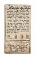 Larry Doyle Signed 1911 T205 Gold Border #54 (JSA LOA)