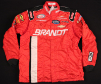 Dale Earnhardt Jr. Signed Nascar Team Simpson Crew Suit Jacket (JSA LOA)