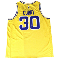 Stephen Curry Signed Warriors Jersey (Steiner COA)