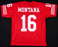 Joe Montana Signed 49ers Jersey (TriStar Hologram)