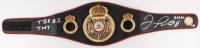 "Floyd Mayweather Jr. Signed World Boxing Association Belt Inscribed ""TBE  #1 TMT"" & ""6/3/17"" (Beckett COA)"