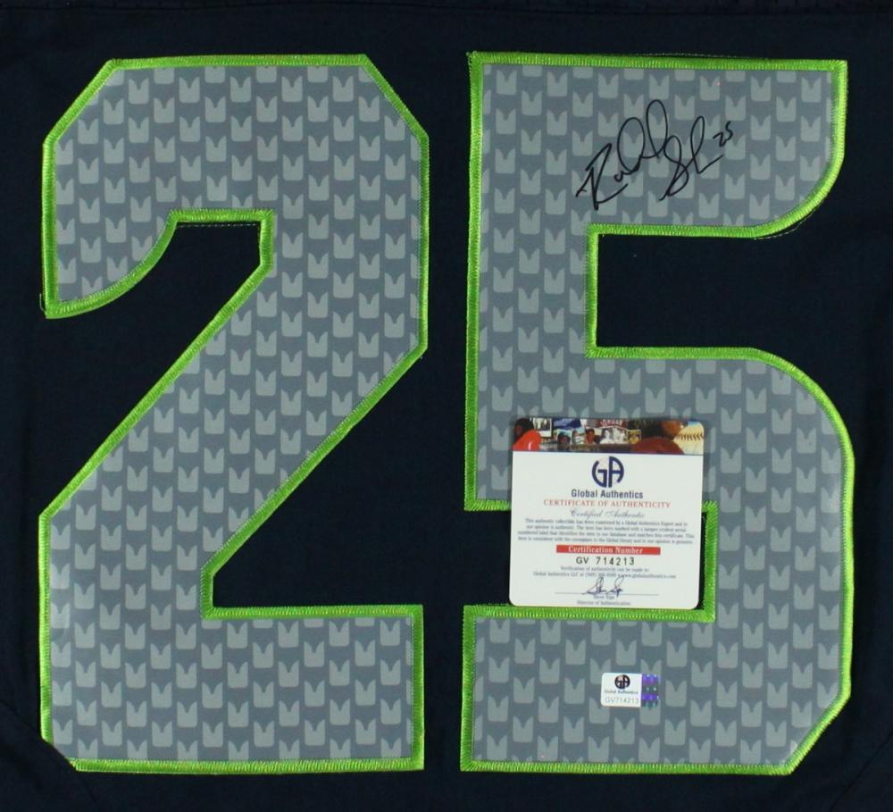 richard sherman autographed jersey