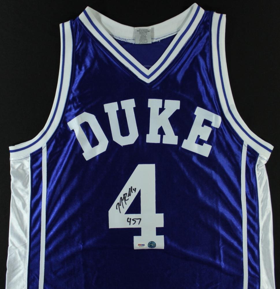 1cb5c4d60cd JJ Redick Signed Duke Jersey Inscribed