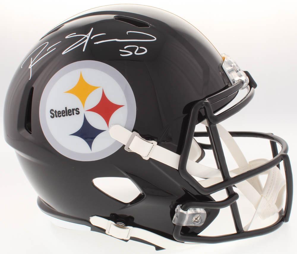 683d205b8 Ryan Shazier Signed Steelers Full-Size Speed Helmet (TSE COA)