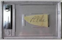 Robert E. Lee Signed Cut (Beckett Encapsulated)