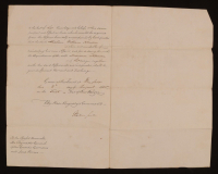 King William IV Signed 8.5x12.5 1830 Document (JSA LOA)