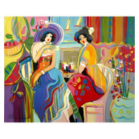 "Isaac Maimon Signed ""Side Pot with Flowers"" 30x24 Original Acrylic Painting at PristineAuction.com"