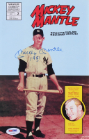 "Mickey Mantle Signed 1992 ""Mickey Mantle"" Issue #2 Magnum Comic Book Inscribed ""1951"" (PSA LOA)"