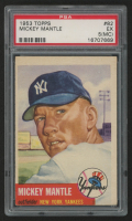 1953 Topps #82 Mickey Mantle (PSA 5)(MC) at PristineAuction.com