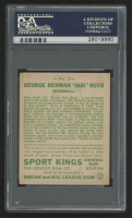 1933 Sport Kings #2 Babe Ruth (PSA Authentic) (Altered) at PristineAuction.com
