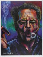 "Bill Lopa Signed  LE ""Jack Nicholson"" 18x24 Giclee (PA LOA)"