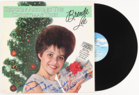 "Brenda Lee Signed ""Rockin' Around The Christmas Tree"" Vinyl Record Album Inscribed ""Merry Christmas Love,"" (Beckett COA)"