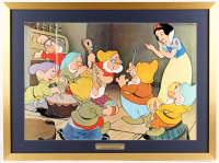 "1975 ""Snow White and the Seven Dwarfs"" 26x35 Custom Framed Fold-Out Magazine Poster"