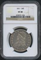 1811 50¢ Capped Bust Half Dollar (NGC VF 30)