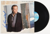 "Lee Greenwood Signed ""Love Will Find Its Way To You"" Vinyl Record Album (Beckett COA)"