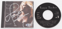 "Tanya Tucker Signed ""Can't Run From Yourself"" CD Album (Beckett COA)"