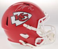 Kareem Hunt Signed Chiefs Full-Size Speed Helmet (JSA COA) at PristineAuction.com