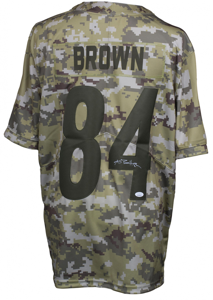 a15d6b10d Antonio Brown Signed Pittsburgh Steelers Nike Salute to Service Jersey (JSA  COA) at PristineAuction