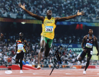 Usain Bolt Signed 11x14 Photo (JSA COA)