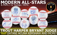 Mystery Ink Modern All-Stars Baseball Edition! 1 All-Star / MVP / Cy Young / ROY Signed Baseball In Every Box!