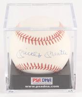 Mickey Mantle Signed OAL Baseball (PSA LOA - Graded 9)