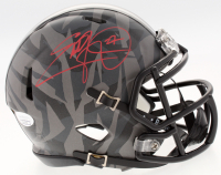 Eddie George Signed Ohio State Buckeyes Speed Mini Helmet (JSA COA) at PristineAuction.com
