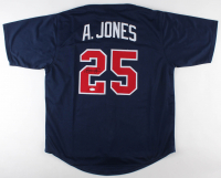Andruw Jones Signed Jersey (JSA COA) at PristineAuction.com