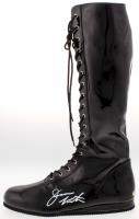 Jesse Ventura Signed Wrestling Boot (MAB Hologram)