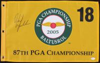Phil Mickelson Signed 2005 Baltusrol PGA Championship Pin Flag (JSA LOA) at PristineAuction.com