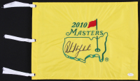 Phil Mickelson Signed 2010 Masters Pin Flag (JSA LOA)
