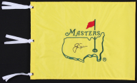 Jack Nicklaus Signed Masters Pin Flag (PSA LOA)