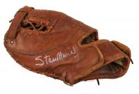 Stan Musial Signed Vintage Rawlings Baseball Glove (JSA COA)