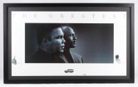 "Michael Jordan & Muhammad Ali ""The Greatest"" 27x42 Custom Framed Poster Display"