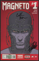 "Stan Lee Signed 2014 ""Magneto"" Issue #1 Marvel Comic Book (Lee COA)"