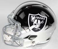 Bo Jackson Signed Oakland Raiders Full-Size Chrome Speed Helmet (JSA COA) at PristineAuction.com
