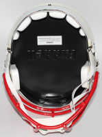 Rob Gronkowski Signed Patriots Full-Size Chrome Speed Helmet (Steiner Hologram) at PristineAuction.com