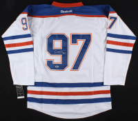 Connor McDavid Signed Oilers Captains Jersey (SGC LOA) at PristineAuction.com