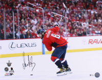 Alexander Ovechkin Signed Capitals 16x20 Photo (Beckett COA) at PristineAuction.com