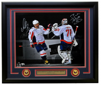 Alexander Ovechkin & Braden Holtby Signed LE Washington Capitals 22x27 Custom Framed Photo Display (Fanatics Hologram)