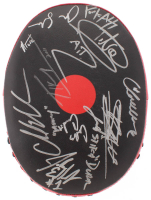 UFC Focus Mitt Signed by (11) with Carlos Condit, Chad Mendes, Stefan Struve, Matt Mitrione (JSA ALOA)