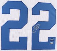 Emmitt Smith Signed Cowboys 35x43 Custom Framed Jersey (Beckett Hologram & Prova Hologram) at PristineAuction.com